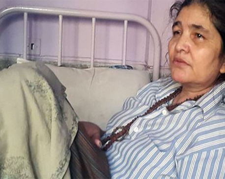 Gangamaya's health in critical condition