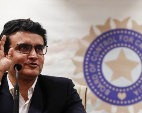 Sourav Ganguly says he will lead BCCI like he captained India
