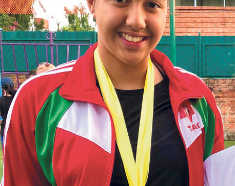 Gaurika claims eight golds