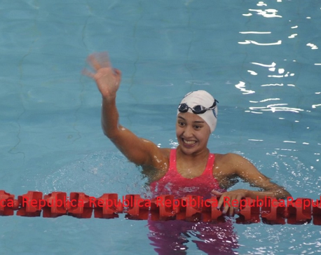 Gaurika claims second gold in SAG