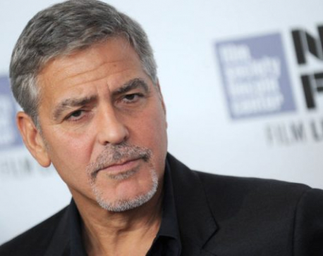 George Clooney is upset with this nation's elite
