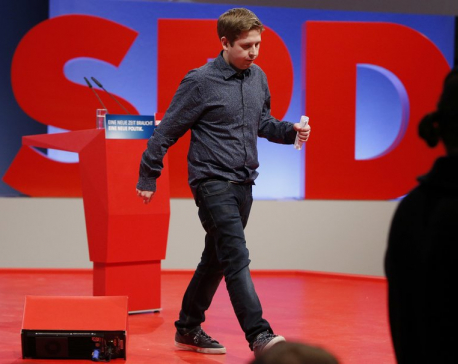 28-year-old student tries to derail next German government