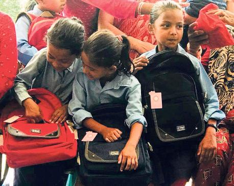 Education material for Dalit schoolchildren