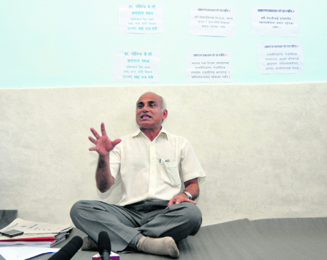Dr KC to stage 11th hunger strike from May 23