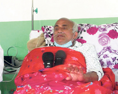 Dr KC ready for talks with govt through team