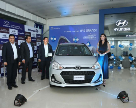 2017 Grand i10 now in Nepal