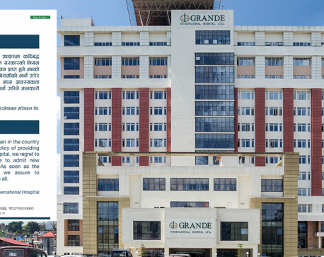 Grande Hospital stops admitting COVID-19 patients citing scarcity of oxygen