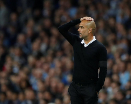 Guardiola left frustrated after City's missed chances