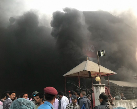 Massive fire at Sundhara-based Gulab Sweet Shop