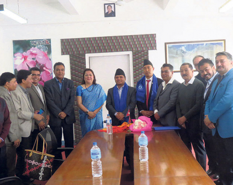 HAN submits memorandum to tourism minister