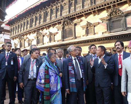Bangladeshi President visits Bhaktapur