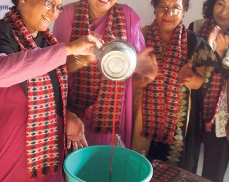 Handicraft training for women