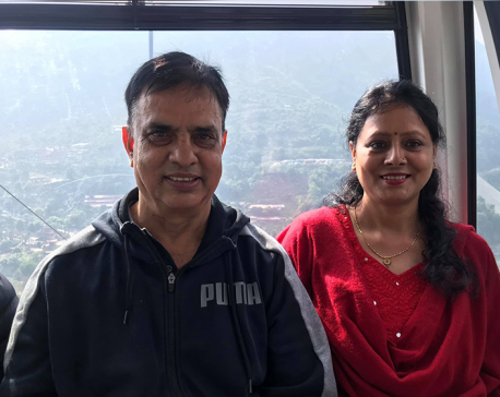 Comedian Hari Bansa Acharya and his spouse test positive for COVID-19