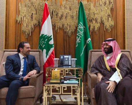 Lebanon's Hariri in France, says he wasn't Saudi prisoner