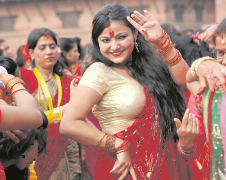 Teej festival being observed today