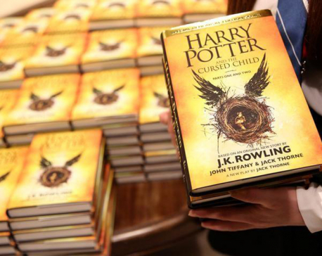 """""""Harry Potter"""" triumphs with magical sweep at Olivier Awards"""