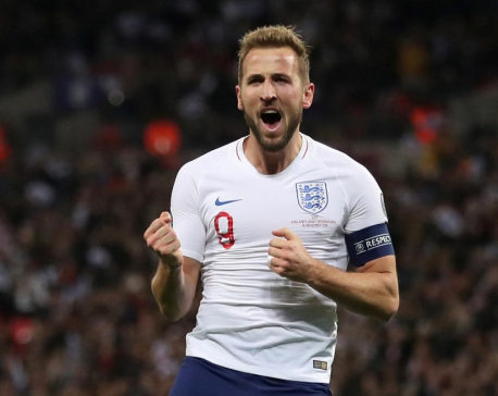 Kane treble as England demolish Montenegro to book Euro 2020 spot