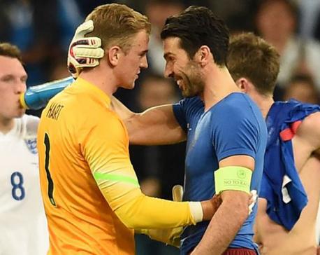 'A match for men': Turin derby isn't just Buffon vs. Hart