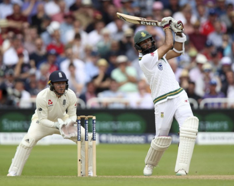 South Africa pushes lead over England to 290 in 2nd test