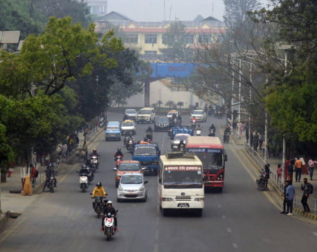 Air pollution level of the valley falls with rainfall but still remains 'unhealthy'