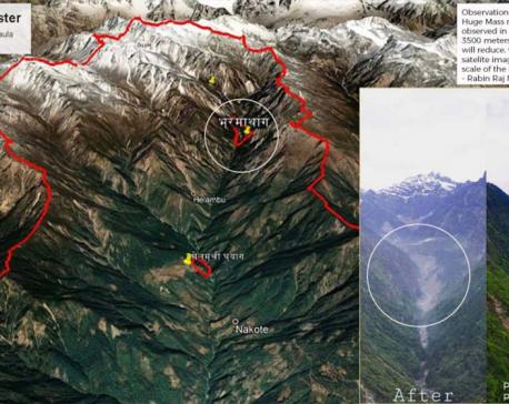 Massive landslide in Himalayas of Helambu caused devastating flash flood downstream