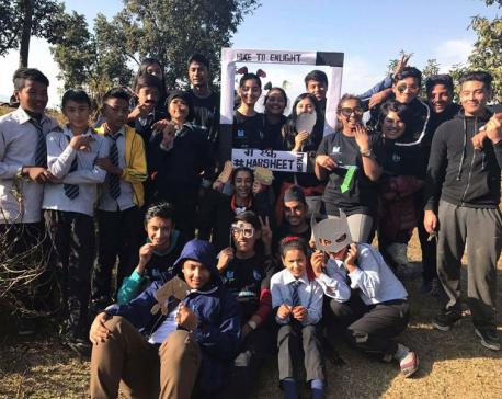 Hiking for Kathmandu youth