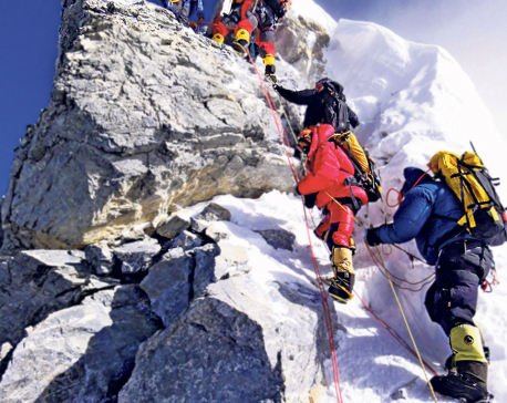 Rangdu's photo exhibit reveals truth about Hillary Step