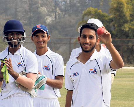 GHCA in control as Nexus loses 18 wickets on day-1