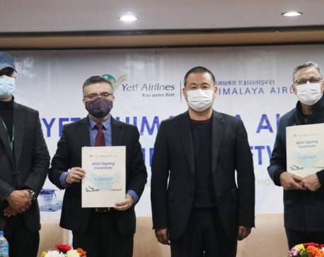 Himalaya Airlines and Yeti Airlines join hands for network integration