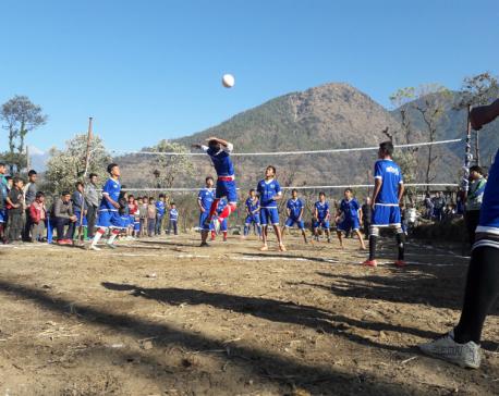 Interscholastic tournament in Sindhupalchowk
