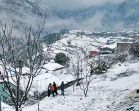Snowfall in Baitadi, normal life hit hard