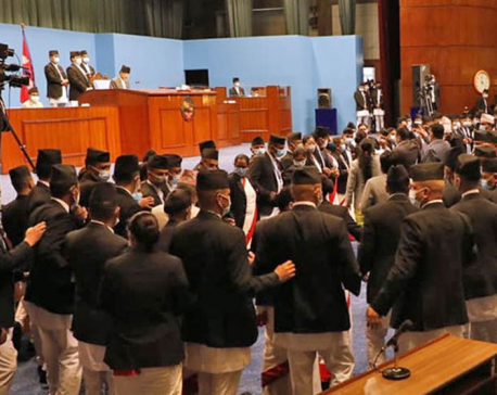 UML lawmakers obstruct HoR meeting, next meeting to be held on Thursday
