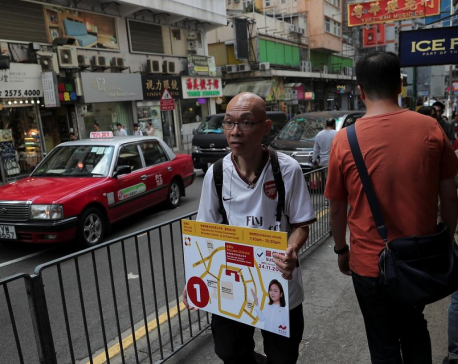 Campus siege nears end as Hong Kong gears up for election