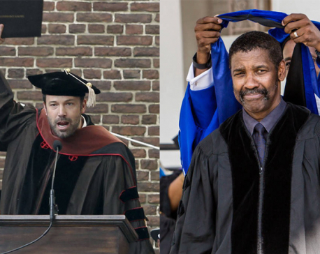 Hollywood celebrities with honorary degrees
