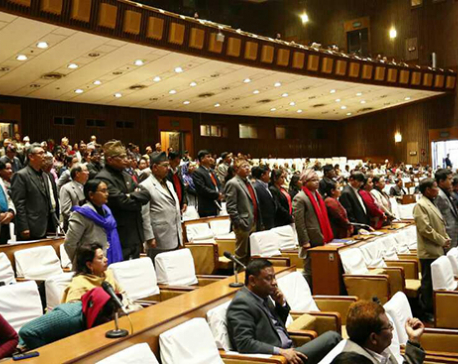 House meeting disrupted, adjourned for Friday 3 pm