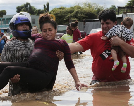 Weakened Eta drenches Central America; at least 57 dead