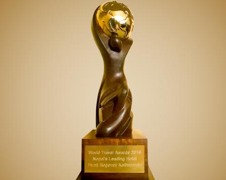 Hyatt Regency Kathmandu wins World Travel Award