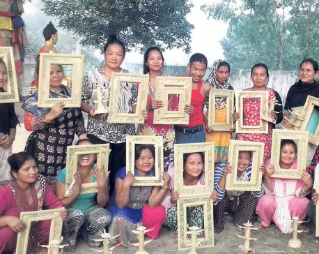 Bamboo crafts new income source for Dhanusa locals