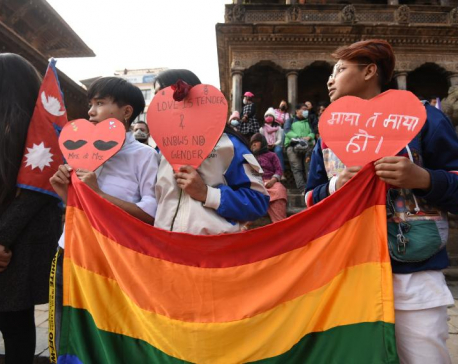 LGBTQI group observes Valentine's Day (in Photos)