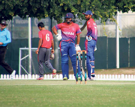 Malla's ton guides Nepal to second win over UAE