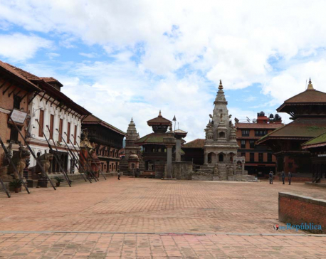 Lockdown in Bhaktapur (Photos)