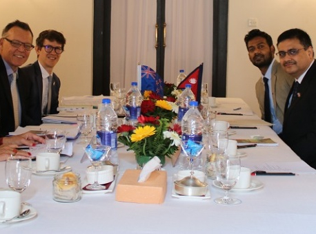 First Nepal-New Zealand bilateral consultation meeting held in Kathmandu