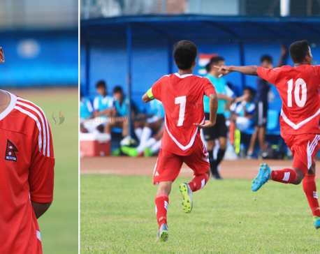 Brijesh brace keeps Nepal qualification chances alive (photo feature)