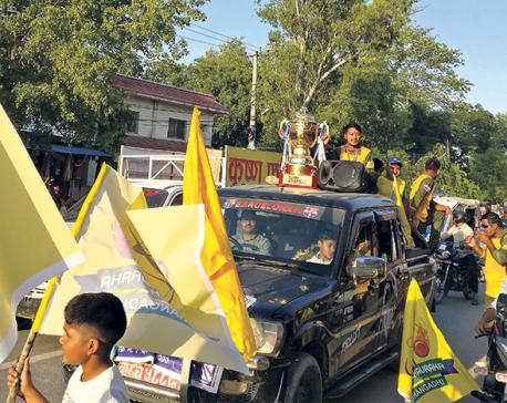 Chauraha's win marks Dhangadhi's rise through DPL
