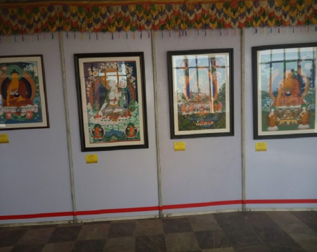 'China-Nepal Thangka Arts and Works Exhibition' concludes today