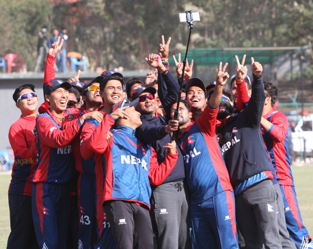 ICC WCL: Nepal's historic win over Kenya (photos/video)