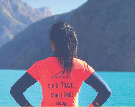 Solo woman travel challenge returns