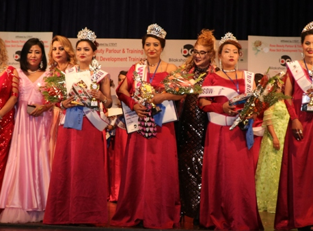 Lina bags the title of 'Beautician Talent Nepal 2020'