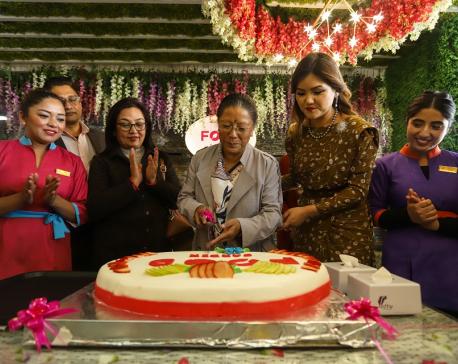 Renasha's new venture 'Food Garden'