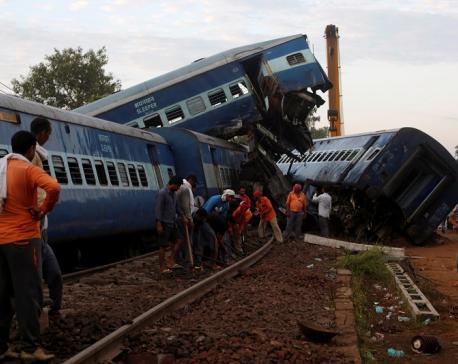 At least 42 injured in rail accident in Uttar Pradesh